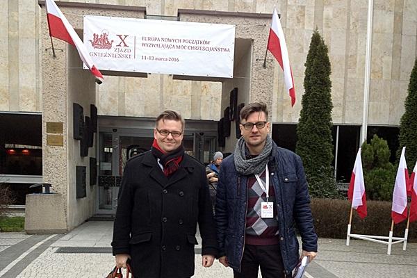 Reprezentanci CDO Polska na X Zjeździe Gnieźnieńskim